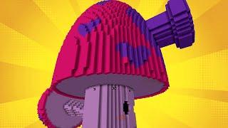 getlinkyoutube.com-Minecraft vs Zombies | GIGA PERFUME-SHROOM (SQUEEZE ME!) | PvZ  Land