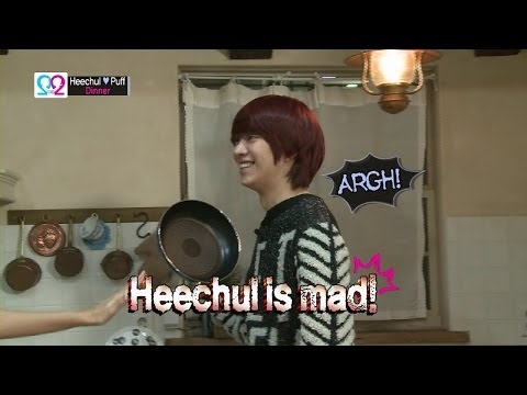 Global We Got Married S2 EP03 Making Film (Super Junior Heechul & Puff) 140423 (슈퍼주니어 김희철 & 곽설부)