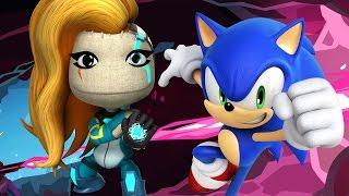 getlinkyoutube.com-Sonic VS Kai - Velocity 2X Costume Showcase - LittleBigPlanet 3 Animation