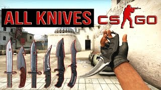 getlinkyoutube.com-CS:GO ALL KNIVES «CounterStrike GO» All Knives + Animations