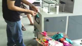 getlinkyoutube.com-Balloon screen printing machine single color print