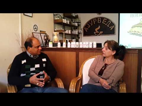Dr. Vikram from Chandigarh Spreading Ayurveda in Europe