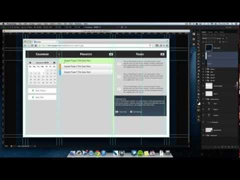 Designing an Application in Photoshop - Part 01