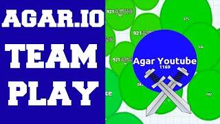 getlinkyoutube.com-I am Here To Save My Team! ★ Amazing Agar.io Team Play Video ! ★