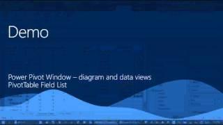 getlinkyoutube.com-Data Modeling in Excel using Power Pivot