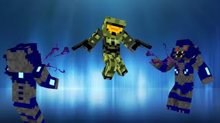 getlinkyoutube.com-Halo in Vanilla Minecraft | ONLY ONE COMMAND BLOCK (1.8)