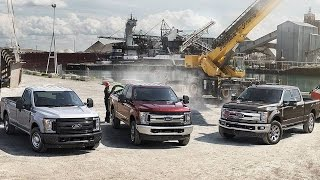 getlinkyoutube.com-Ford Unveils New 2017 F-Series Super Truck With Aluminum