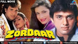 Zordaar - Full Movie | Hindi Movies Full Movie | Govinda Movies | Latest Bollywood Full Movies width=