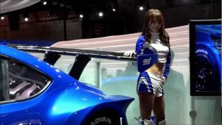 getlinkyoutube.com-東京モーターショー2011  スバル・ブース コンパニオン 春菜めぐみさん