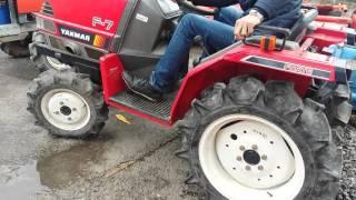 getlinkyoutube.com-Японский мини-трактор Yanmar F7