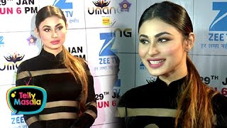 getlinkyoutube.com-Mouni Roy's SEXY Look On Red Carpet | Umang 2017