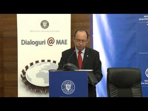 """Discursul ministrului Bogdan Aurescu la cea de a II-a sesiune a dezbaterilor """"Dialoguri@MAE"""""""