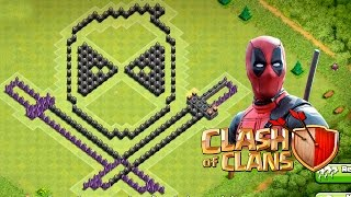 getlinkyoutube.com-LAYOUT TROLL DO DEADPOOL - CLASH OF CLANS
