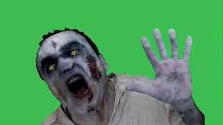 getlinkyoutube.com-Green Screen zombie show windows