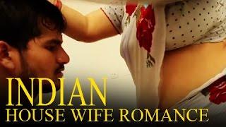 getlinkyoutube.com-Hot Indian House Wife romance with Husband Friend
