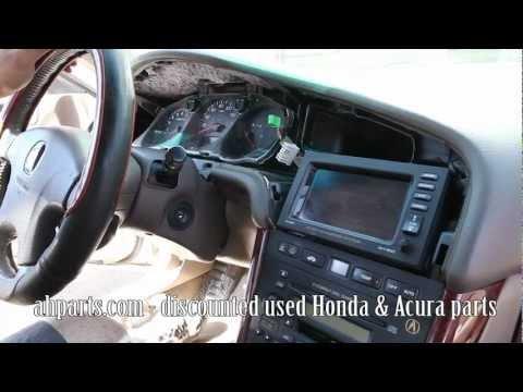 Acura2 on Radio   Navigation Screen 1999 2000 2001 2002 2003 Acura Tl Tutorial