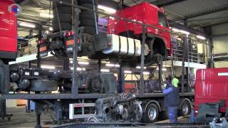 getlinkyoutube.com-3 Trucks in 1 Trailer @ BAS Trucks