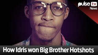 getlinkyoutube.com-How Idris Won Big Brother Hotshots - Pulse TV News
