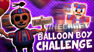 getlinkyoutube.com-THE BALLOON BOY FROM FIVE NIGHTS AT FREDDY'S POSSESED SIMON AND GHOST (Minecraft Challenge)