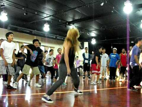 Chachi Gonzales dances at Quest