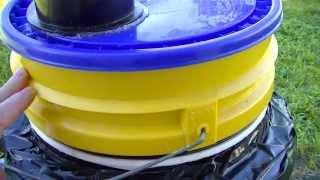 getlinkyoutube.com-No More Houseflies Experimental Black Soldier Fly Composter / Harvester