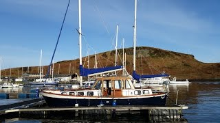 getlinkyoutube.com-Nauticat 33 - A Yacht Delivery from Oban to Lanzarote
