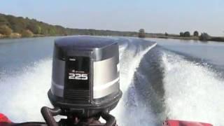 Phantom 18  Yamaha 225 PS  225 hp outboard Außenborder speedboat
