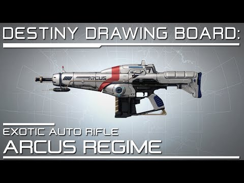 Destiny News - Weapons - Exotic Auto Rifle: Arcus Regime