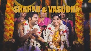 getlinkyoutube.com-Vasudha & Sharad, Hindu wedding Chennai
