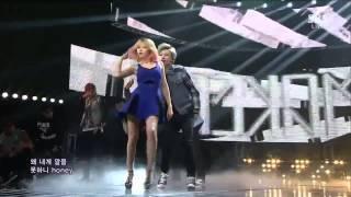 getlinkyoutube.com-131103 Trouble Maker -  ATTENTION live HD SBS Inkigayo