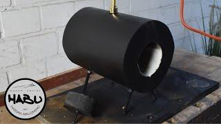 getlinkyoutube.com-DIY | Gas forge