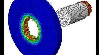 getlinkyoutube.com-Abaqus CAE-  Step by step  How to use the material damage in high velocity impact problem