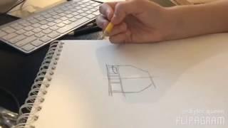 getlinkyoutube.com-Sasuke uchiha the last speed drawing video!