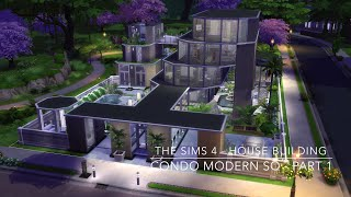 getlinkyoutube.com-The Sims 4 - House Building - Condo Modern SQ - Part 1