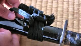 getlinkyoutube.com-下緒の結び方 How to Tie Sageo - String