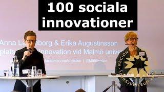 SIN18 - Boksläpp: 100 sociala innovationer – som kan förändra Sverige