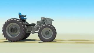 New Holland T5 Terraglide & Comfort Ride suspension system