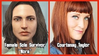 getlinkyoutube.com-Characters and Voice Actors - Fallout 4