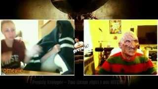 Freddy Krueger - scaring people on random webcams part2