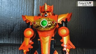 getlinkyoutube.com-[TMT][096] Review DX Daikenjin Zubaan! GouGou Sentai Boukenger! 轟轟戦隊ボウケンジャー! Sentinel Knight!