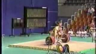 getlinkyoutube.com-Kakhi Kakhiashvili Clean and Jerk - 235 kg (Barcelona '92.)