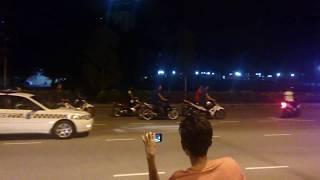 getlinkyoutube.com-rempit jatuh langgar road block danga bay johor