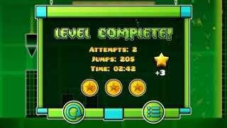 getlinkyoutube.com-Level 3!!! Geometry Dash [1.9] All Coins :D