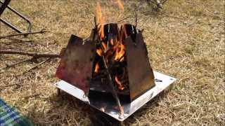 getlinkyoutube.com-焚き火用ヘキサゴンストーブのその後です♪