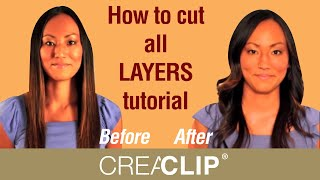 getlinkyoutube.com-How to cut all LAYERS tutorial - Medium to Long layered hairstyles