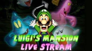 getlinkyoutube.com-Luigi's Mansion Live Stream