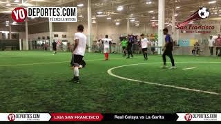 Real Celaya elimina al lider La garita en Champions de los Martes Liga San Francisco