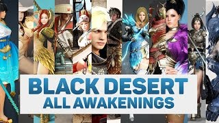 getlinkyoutube.com-BLACK DESERT ALL AWAKENINGS WEAPONS 1080P 60FPS