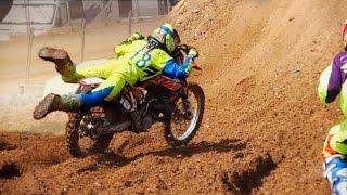 getlinkyoutube.com-MX ELITE 🚵4 Races | Motocross Spain Championship | Bellpuig 2016