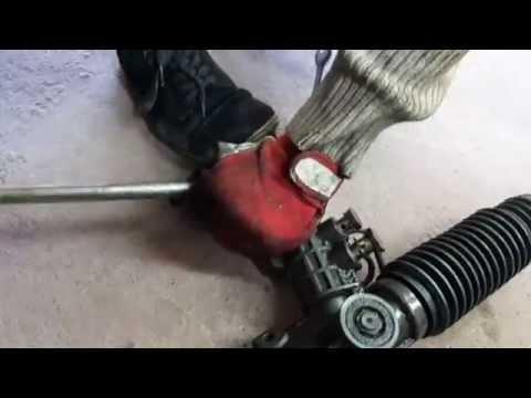 Замена рулевой рейки на BMW E36 крыса